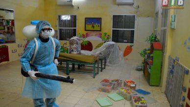 phun khử trùng tại Thái Bình