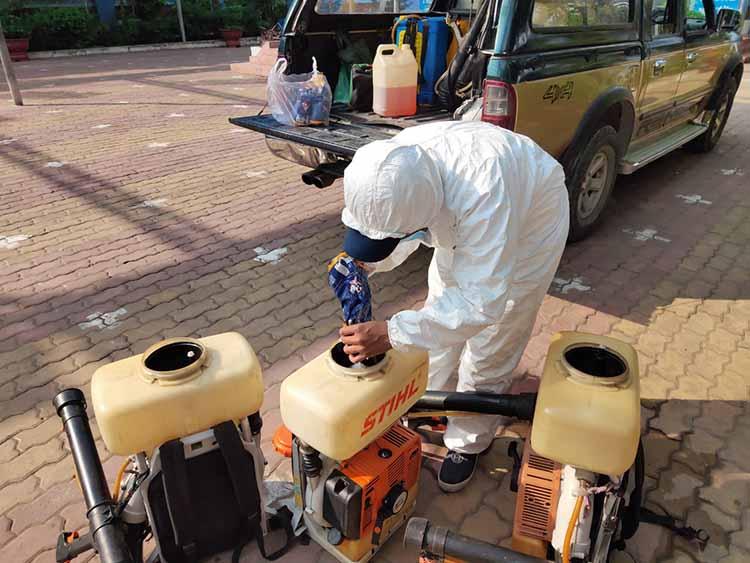 cách phun diệt muỗi hiệu quả