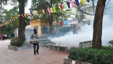 phun thuốc diệt ruồi tại Quảng Ninh